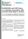 EUROHORCs and ESF Vision on a Globally Competitive ERA and their Road Map for Actions