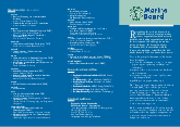 MB leaflet, March 2003