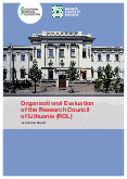 Organisational Evaluation of the Research Council of Lithuania (RCL)