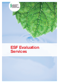 ESF Evaluation Services