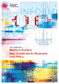 Media in Europe: New Questions for Research and Policy