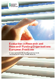 Evaluation in Research and Research Funding Organisations: European Practices