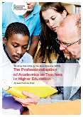 The Professionalisation of Academics as Teachers in Higher Education