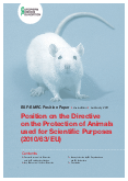 ESF-EMRC Position on the Directive on the Protection of Animals used for Scientific Purposes (2010/63/EU)