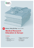 Medical Research Education in Europe