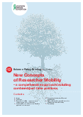 New Concepts of Researcher Mobility – a comprehensive approach including combined/part-time positions